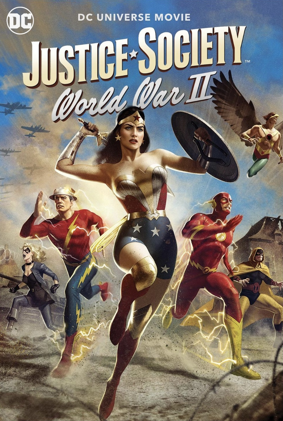 Wonder Woman & the Justice Society (2021)